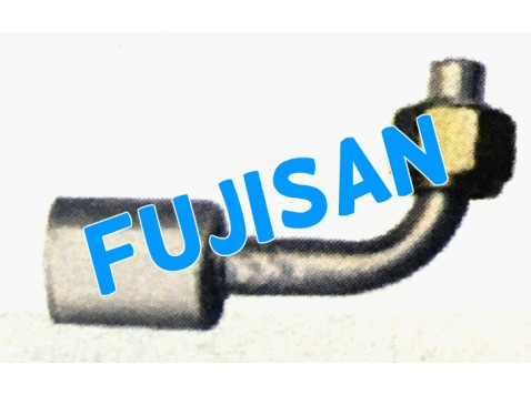 Aluminum Pipe Fitting w/ aluminum ferrule w/ metal nut