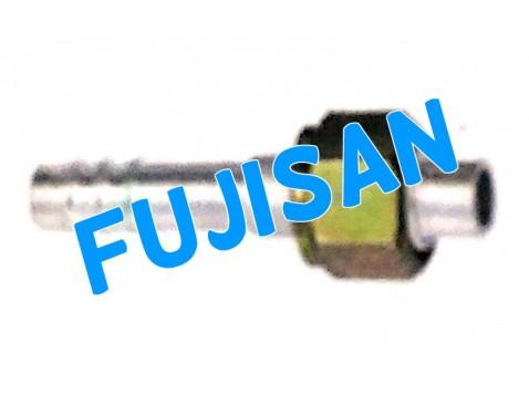 Aluminum Pipe Fitting w/ Metal Nut
